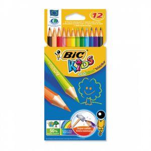 Цветни моливи BIC KIDS ECOLUTION - 12 цв