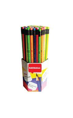 Молив с гума NATARAJ / неон /