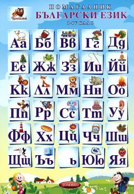 ПОМАГАЛО БЪЛГАРСКИ ЕЗИК 1-4 КЛАС