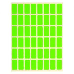 Ценови етикети малки-зелени 22/12 х 50бр