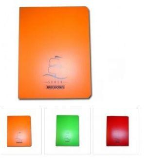 Тетрадка Seren А5, 5цв. 80л. pvc корица