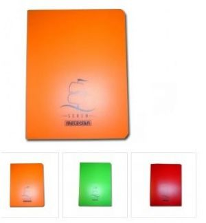 Тетрадка Seren A4, 5цв. 60л. pvc корица