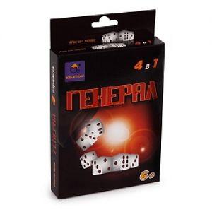 "Игра със зарове "" ГЕНЕРАЛ "" 4 в 1"