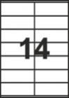 САМОЗАЛЕПВАЩИ ЕТИКЕТИ А4 - 22024 - 14л. /100л. в пакет/