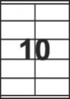 САМОЗАЛЕПВАЩИ ЕТИКЕТИ А4 - 22027 - 10л. /100л. в пакет/