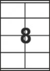 САМОЗАЛЕПВАЩИ ЕТИКЕТИ А4 - 22029 - 8л. /100л. в пакет/