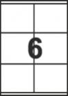 САМОЗАЛЕПВАЩИ ЕТИКЕТИ А4 - 22030 - 6л. /100л. в пакет/