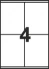 САМОЗАЛЕПВАЩИ ЕТИКЕТИ А4 - 22030 - 4л. /100л. в пакет/