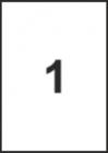 САМОЗАЛЕПВАЩИ ЕТИКЕТИ А4 - 22036 - 1л. /100л. в пакет/