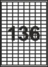 САМОЗАЛЕПВАЩИ ЕТИКЕТИ А4 - 22045 - 136л.