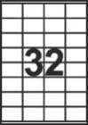 САМОЗАЛЕПВАЩИ ЕТИКЕТИ А4 - 22037 - 32л. /100л. в пакет/