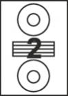 САМОЗАЛЕПВАЩИ ЕТИКЕТИ А4 - 22043 - диск 2 /100л. в пакет/
